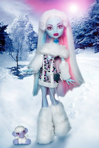The First HQ Abbey Bominable Picture!! - monster-high Photo