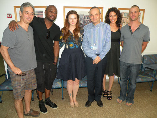 The House cast visiting hospital in Israel