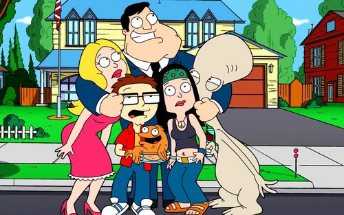 American Dad! wallpaper with anime titled The Smith Family