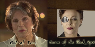 Unknown time lady / Eyepatch lady : uncanny resemblance