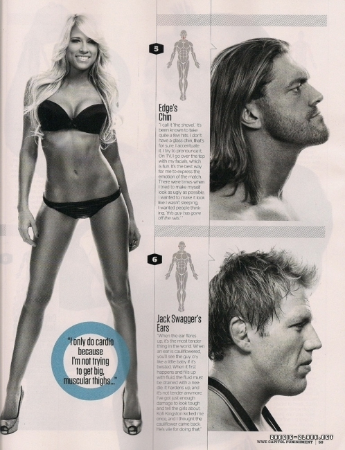 wwe kelly kelly 2011. WWE Magazine, June 2011.