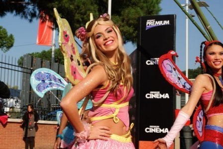 "Winx Power Show wallpaper entitled Winx Power Show Girls @ the ""Winx Club: The Magic Returns"" Movie Premiere in Italy"