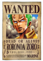 Zoro's Wanted Poster - roronoa-zoro photo
