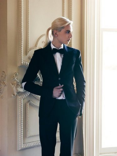 andrej pejic wallpaper with a business suit entitled andrej