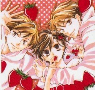 Аниме strawberries!!!