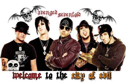 Avenged Sevenfold wallpaper possibly containing a sign, a bearskin, and a portrait called avenged