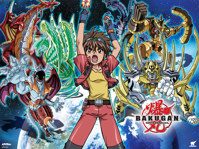 wallpaper girls and boys. and ackgrounds Bakugan+3d