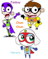 fanboy,chum chum and heroro