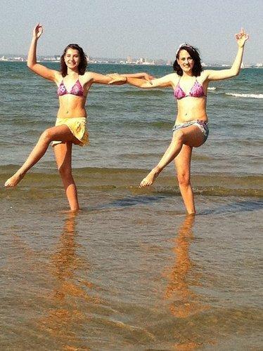fun at the pantai <3