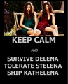 keep calm - katherine-pierce fan art