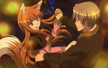 lawrence and holo dancing 2gether - spice-and-wolf photo