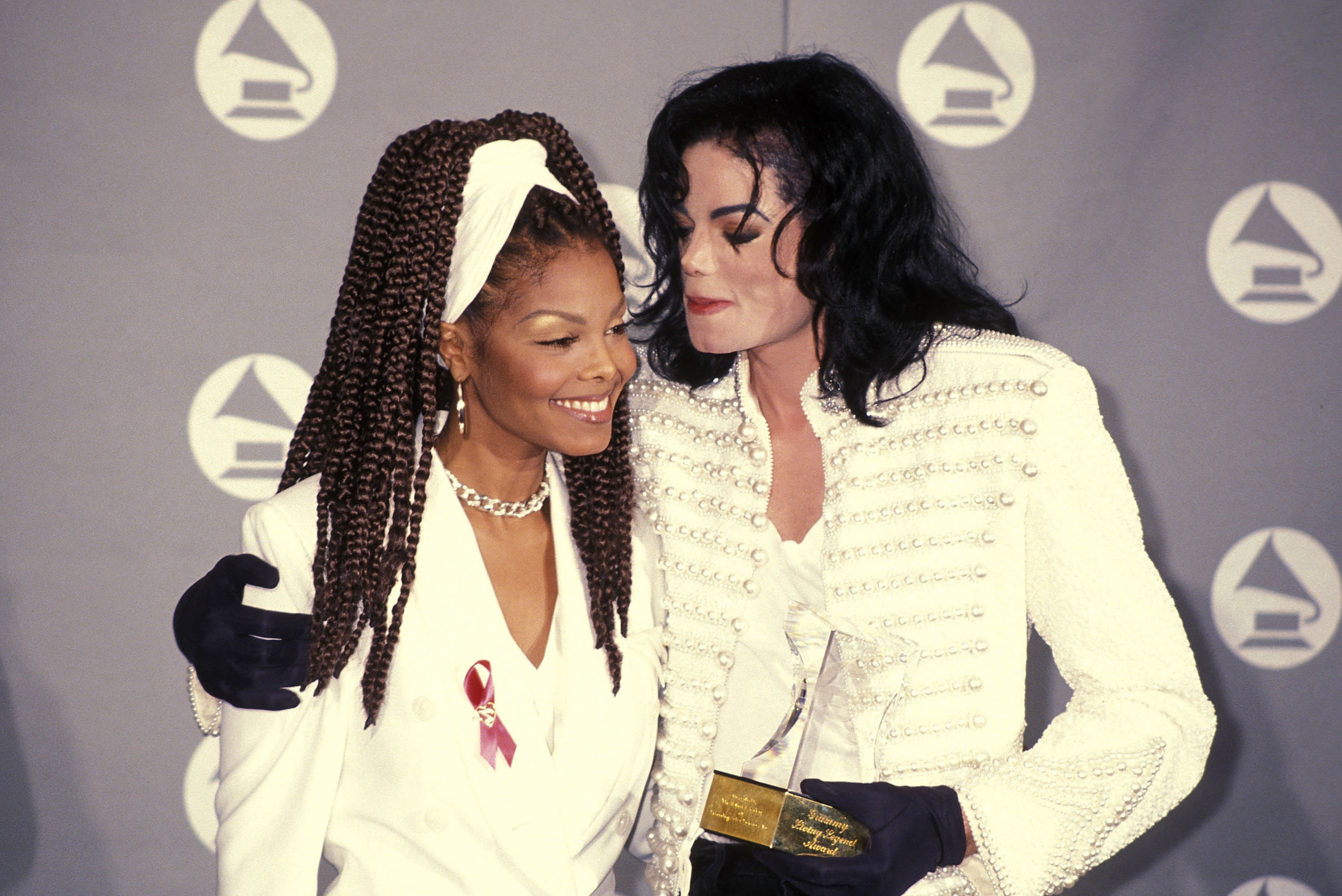 michael and janet jackson relationship