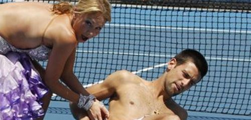 Novak Djokovic wallpaper entitled naked dance djokovic