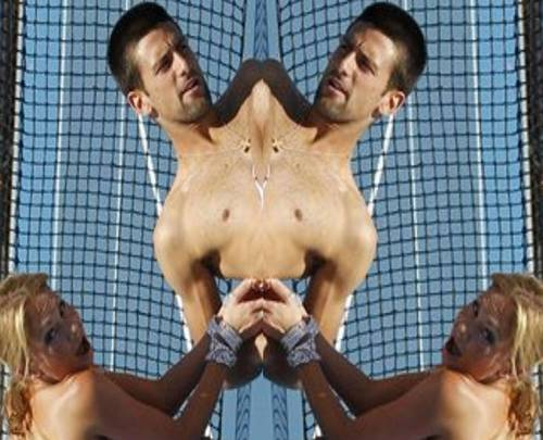 YouTube wallpaper possibly containing a hunk entitled naked djokovic girl