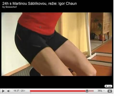 sablikova muscular legs