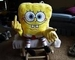 spongebob pointing the finger