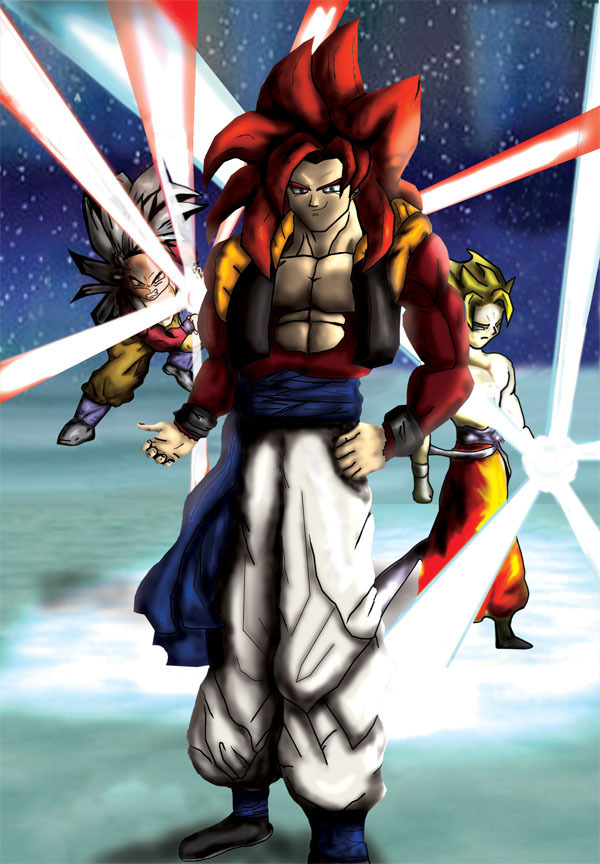 Gogeta Images Training With Ss4 Gogeta Hd Wallpaper And Background