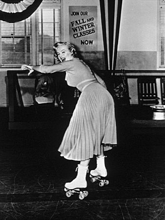 ~~marilyn on rollers~~