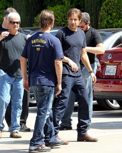 11/05/2011 - Filming Californication