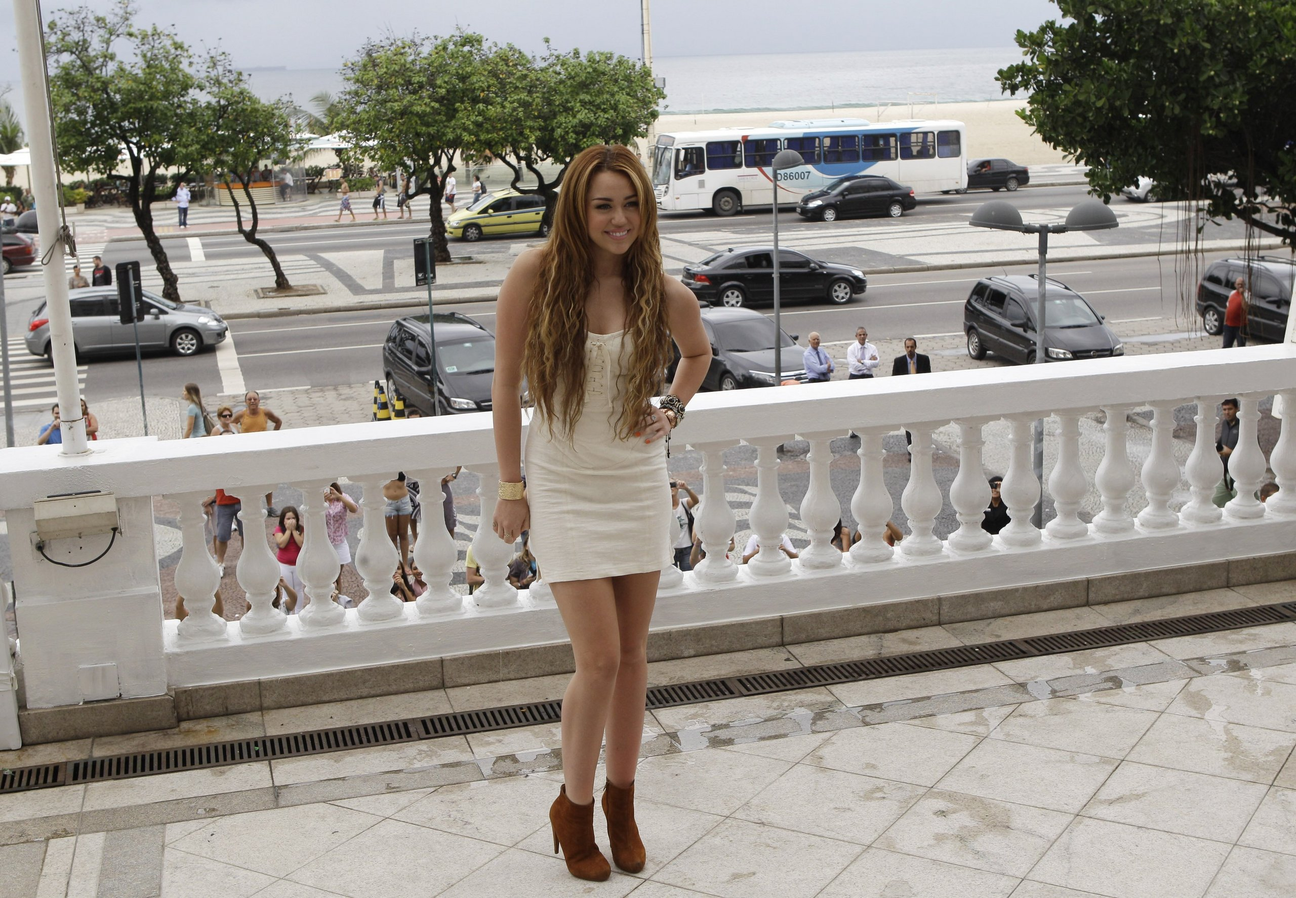 13. May - At the Copacabana Palace Hotel in Rio de Janeiro
