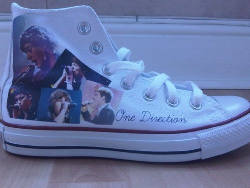 1D = Heartthrobs (Enternal tình yêu 4 1D) 1D Converse Shoes!!! tình yêu 1D Soo Much! 100% Real ♥
