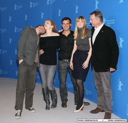 57TH ANNUAL BERLINALE FILM FESTIVAL - Angel PHOTOCALL