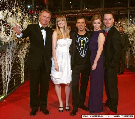 57TH ANNUAL BERLINALE FILM FESTIVAL - Angel PREMIERE