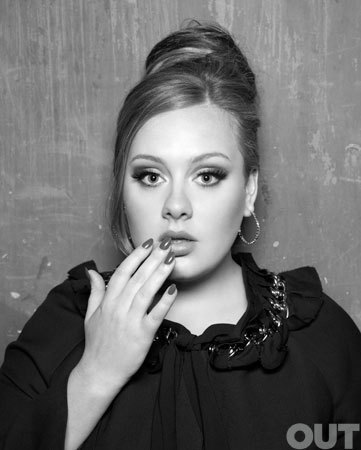Adele - Out Magazine (May 2011)