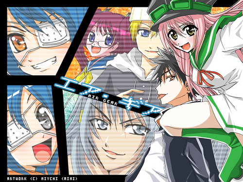 Air Gear wallpaper containing anime entitled Air gear