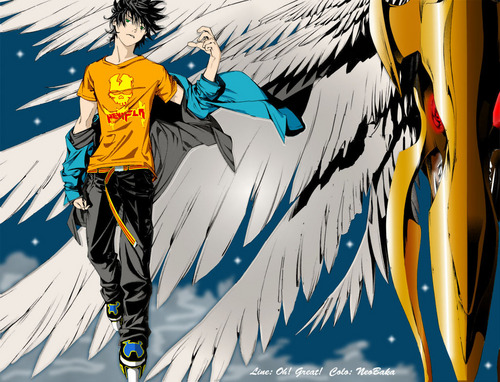 Air Gear Hintergrund with Anime entitled Air gear