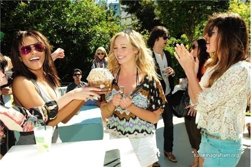 AlX Armani Exchange Celebrates Candice Accola's Birthday With Turn The Corner Foundation