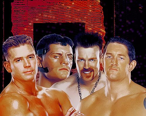 Alex Riley,Cody Rhodes,Sheamus,Wade Barrett