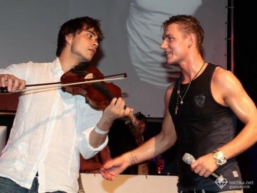 Alex and Alexei Vorobyov :)