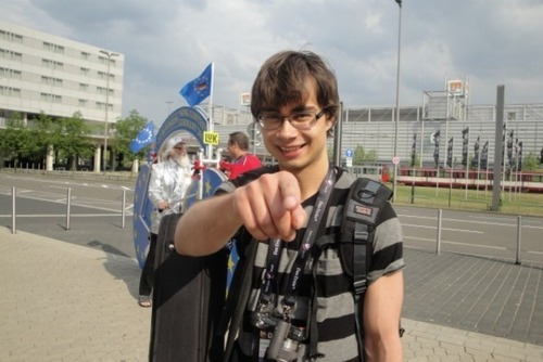 Alex in dusseldorf Esc 2011 :) <3