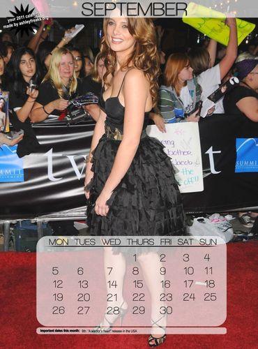 Ashley Greene Calendar