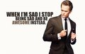 Awesome - barney-stinson photo