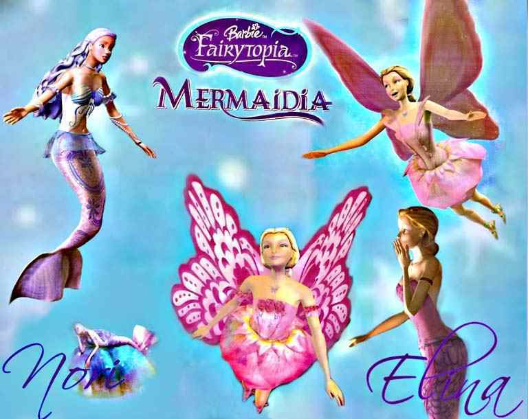 Барби Fairytopia Mermaidia