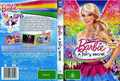 Barbie a fairy secret cover and backcover of the DVD