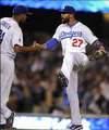 Because Jansen closed out the game [May 13th] - los-angeles-dodgers photo