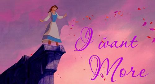 Belle on Pocahontas background