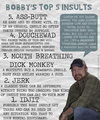 Bobby's Top 5 Insults - supernatural fan art