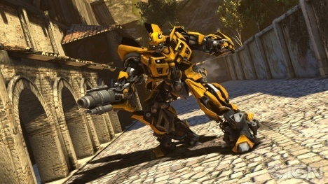 bumblebee transformers dark of the moon wallpaper. Bumblebee in Robot Mode, Dark