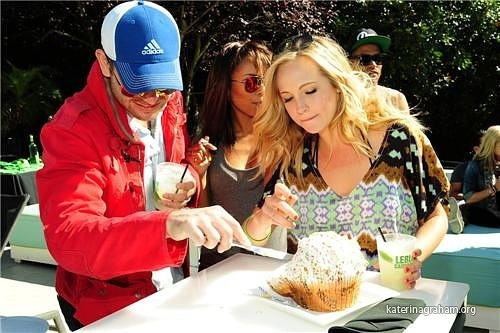 Candice Accola Blows Out Her B-Day Candles♥
