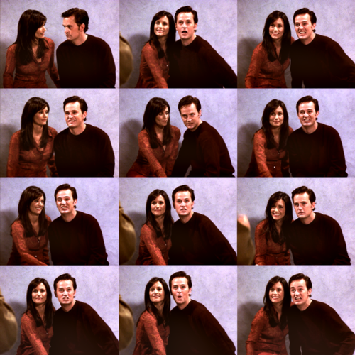 Chandler just can't smile on 사진