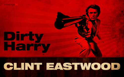 Clint Eastwood wallpaper containing anime entitled Clint - Dirty Harry