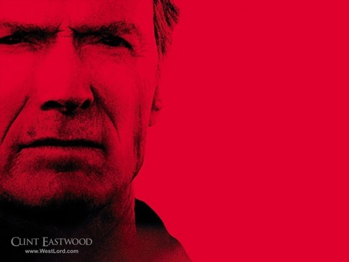 Clint Eastwood kertas dinding titled Clint