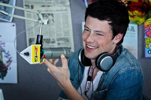 Cory Monteith and Bonnie Dune at The Zone FM in Victoria