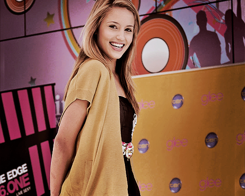 Dianna Agron wallpaper containing an outerwear, a box coat, and an overgarment titled Dianna