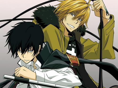 Dino and Hibari