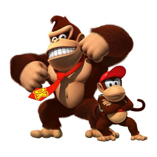 Donkey Kong wallpaper entitled Donkey and Diddy Kong